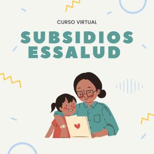 curso virtual subsidio essalud