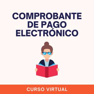 curso virtual comprobantes de pago electronico